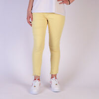 Levi's 721 High Rise Ankle Skinny Gelb Damen Cropped Jeans Größe 25 W25