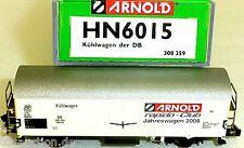 Rapido Club Modelo de Ocasión 2008 Vagón Frigorífico DB Arnold HN6015 N 1:160