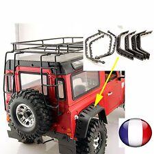 PASSAGES DE ROUES (4) TAMIYA HPI AXIAL D90 SCX10 CR01 RC4WD CRAWLER DEFENDER J1C