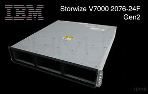 IBM Storwize V7000 2076-24F Gen2 Expansion Enclosure SAS 12Gb DC 24x SFF TOP