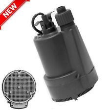 For Draining Hot Tub/Pool/(Rinnai) Tankless Water Heater Sump Submersible Pump