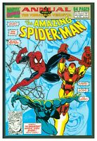 Amazing Spider-Man Annual #25 Marvel Comics 1991 Black Panther & Iron Man Cover