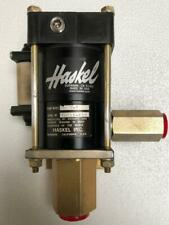 HASKEL M-7 PNEUMATIC AIR FLUID PUMP 0.33 HP 7.8:1 RATIO 300 PSI 21 BAR MAX WP #1