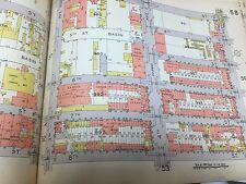 1929 E. BELCHER HYDE PARK SLOPE GOWANUS P.S. 39 BROOKLYN NEW YORK ATLAS MAP