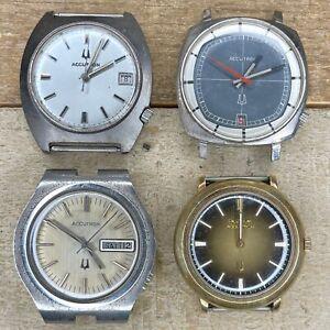 Bulova Accutron Stainless Steel Wrist Watches - 2181, 2182