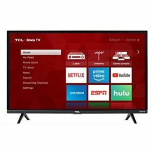 "TCL S327 32"" 1080p FullHD LED Smart TV - Black"