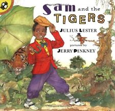 SAM AND THE TIGERS (pb) by Julius Lester--New w/rm*