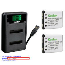 Kastar Battery LZD2 Charger for Fuji NP-45 NP-45A 45B 45S Fujifilm FinePix JV200