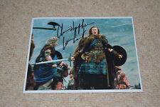 Christopher Lambert SIGNED AUTOGRAFO 20x25 cm in persona Highlander
