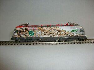 Trix / Minitrix 12550 - Elektrolok - ÖBB - 1116 912-5 - SETG - SPUR N - 3TM133