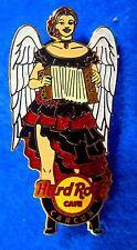 CANCUN SEXY ROCKIN ANGEL SERIES ACCORDIAN INSTRUMENT GIRL Hard Rock Cafe PIN