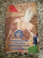 COFANETTO 23 SCHEDE FEDERAZIONE ITALIANA SBANDIERATORI E SPORT DELLA BANDIERA