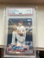 2018 Topps Shohei Ohtani RC Rookie Card #700 PSA 10 Gem Mint Pitching Angels