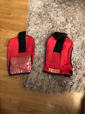 Red Racesafe Shoulder Protetors Size Medium