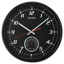 *BRAND NEW* Seiko When Time & Temp Matter Wall Clock QXA696KLH