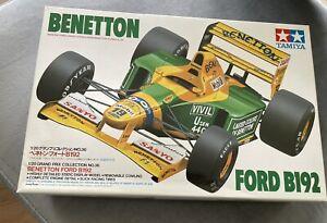 TAMIYA Bausatz Nr. 20036  BENETTON FORD B192  1/20 -NEU-M.Schumacher/M.Brundle *
