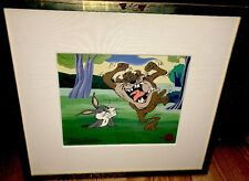 Bugs Bunny Cel Warner Brothers Tasmanian DevilIshly Cute Signed Chuck Jones Cell