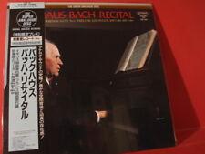 "BACKHAUS-PIANO "" BACH RECITAL ""(SUPER ANALOGUE-JAPANPRESSING-LP-RECORD/NEW=MINT)"