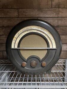 AD.76 ROUND EKCO VINTAGE RADIO