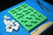 Mold for bricks 05 (ANGLES) DIY mini brick for project