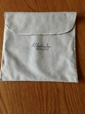 A.L. Jacobs & Sons Jewelers, San Diego, Ca. Anti-Tarnish Pouch For Silver Euc