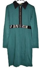 Womens Stanzino Dress Color Green Extra Large