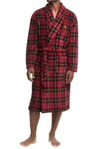 POLO RALPH LAUREN Men's Wallace Plaid Shawl-Collar Sleep Robe NEW NWT