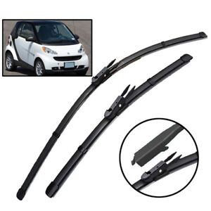 XUKEY Front Windshield Wiper Blades Set For Smart ForTwo W451 Coupe Convertible
