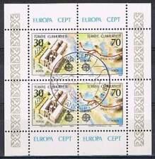 Turkije 1982 gestempeld block 21 - Europa Cept (SG056)