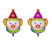 clown feuille ballon pour fesitval joyeux anniversaire enfants fete décoratioIHS