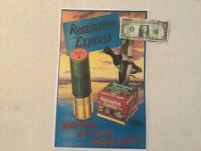 Remington advertising poster  sign