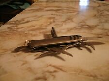 Stainless metal w blade and 6 other tools engraved Eamco corp Whitehall, Pa
