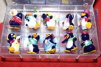 Peppy Pingo Party Pinguine konvolut Ü-ei Komplettsatz Satz komplett Figuren