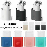 Portable Charging Dock Station Charger Stand Holder For Apple Airpods Earphones