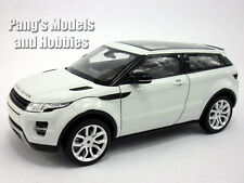 Land Rover Evoque 1/24 Scale Diecast Metal Car Model - WHITE