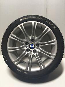"BMW 5 SERIES E60 E61 M SPORT 18"" MV2 ALLOY WHEEL AND GOOD YEAR RUN FLAT TYRE"