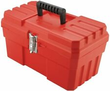 14 Inch Probox Plastic Toolbox For Tools Storage With Removable Tray Red