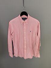 RALPH LAUREN Shirt - 16.5 - Custom Fit - Striped - Great Condition - Men's