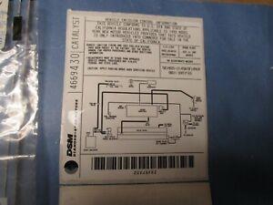 LABEL FOR EMISSIONS  N.O.S.FOR 1995 DODGE AVENGER +EAGLE TALON MLDS.4669430