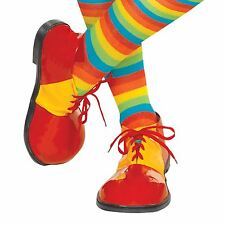 Adults Oversized Clown Funny Comedy Shoes Fancy Dress Costume Accessory UK 5-11