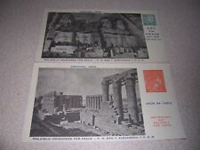1960s PHILATELIC CRUSADERS for PEACE VTG POSTAGE STAMP POSTCARD LOT