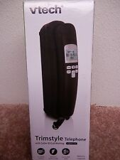 VTECH TRIMSTYLE TELEPHONE BLACK WITH CALLER ID / CALL WAITING MODEL#CD1113