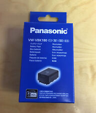 Genuine Panasonic VW-VBK180 Battery HDC- TM80 TM60 TM55 TM40 H85 SDR H100 T70