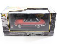1957 Panhard Dyna Z12 Grand Standing (red) Nostalgie 1:43 Model Car NO23C