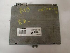 calculateur renault siemens , HOM7700861419 / 7700867287 / S101726204 (réf 4883)