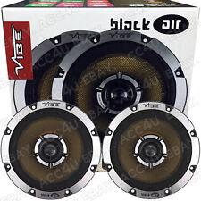 """Vibe BlackAir 6 BA6-V1 6.5"""" inch Car Door Shelf Coaxial Speakers Set"""