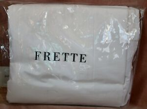 FRETTE Luxury Percalle King Duvet Cover White New in Package