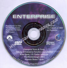 MINT Star Trek: Enterprise 2002 GERMAN PROMO DVD News & Facts, Trailers, MORE!
