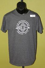 Us Senior Open Omaha 2013 Golf T-Shirt Medium M Dark Gray New
