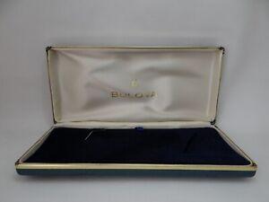 Bulova  Watch Box Oversize Vintage 1970's